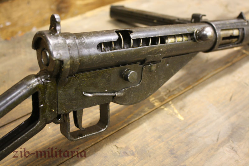 Sten MKII, frame-stock, deactivated MP (WWII)