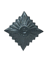 NVA officer star shoulder board, matt