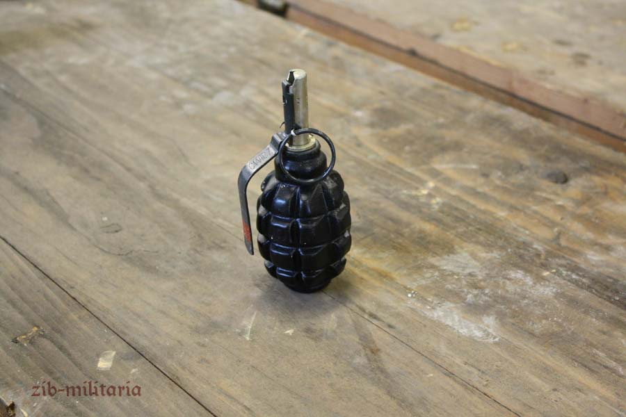 Russian F1 grenade decoration, metal