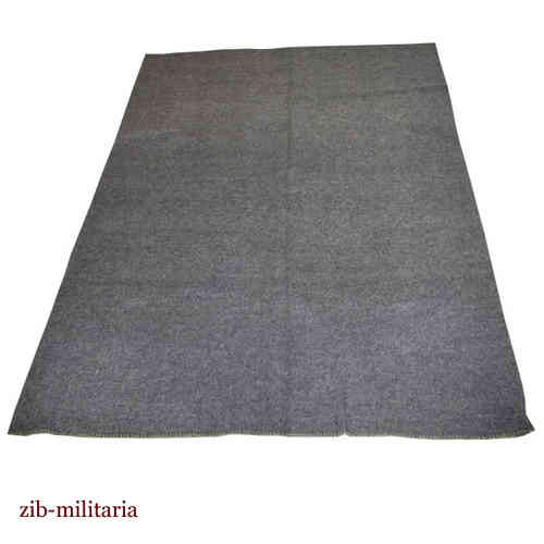 WH like wool blanket, grey, 1,40x1,90