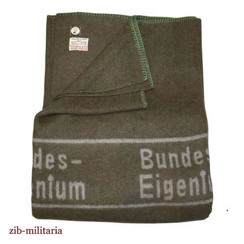 German Army wool blanket