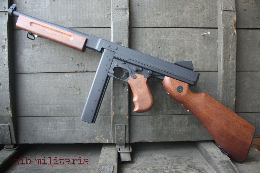Thompson M1A1 MP, Snow Wolf, AEG Airsoft, 0,5 Joule US M1
