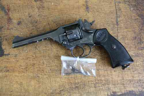 Webley Revolver (Webley made), deactivated revolver (WWII) - one pcs only