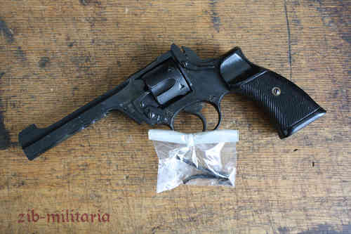 Webley Revolver (Enfield made), deactivated revolver (WWII)