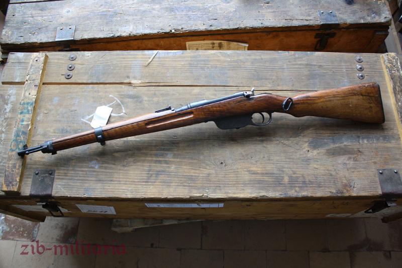 Mannlicher Model 1895 (M95), short, demilled rifle (WWII)