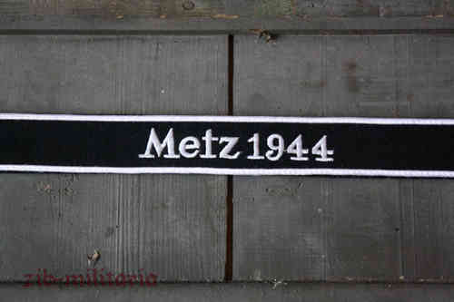 "WH armband ""Metz 1944"", emboidered"