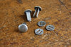 Helmet rivets for M35,M40,M42, steel, stamped
