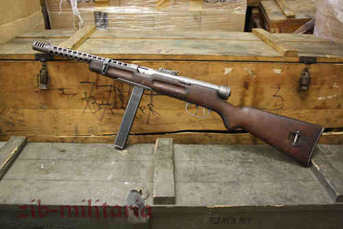Beretta M38A, long stock, deactivated MP (WWII)