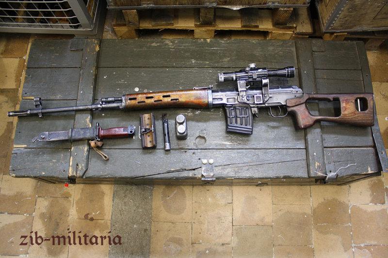 Dragunov Swd Russland Deko Scharfsch Tzengewehr