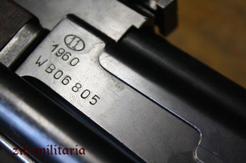 AK 47 folding stock (Poland), milled, deactivated assault rifle