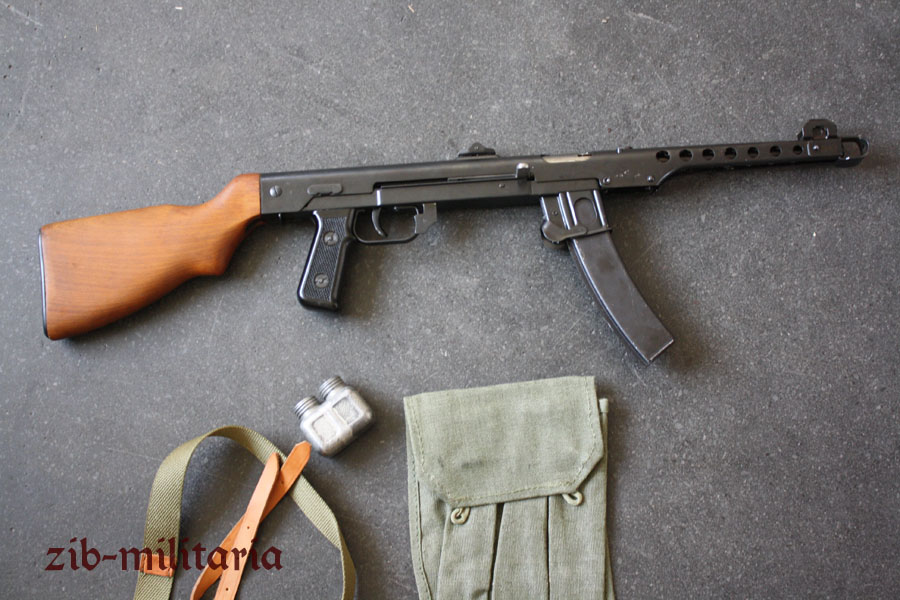 PPS43 with wooden stock, deactivated MP demilled