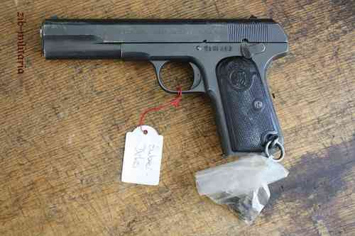 Husqvarna 9 mm Browning long, deactivated pistol