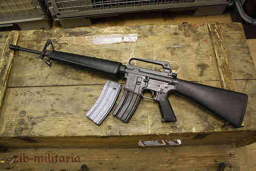 M16 A1 US Colt made, deactivated assault rifle, like new