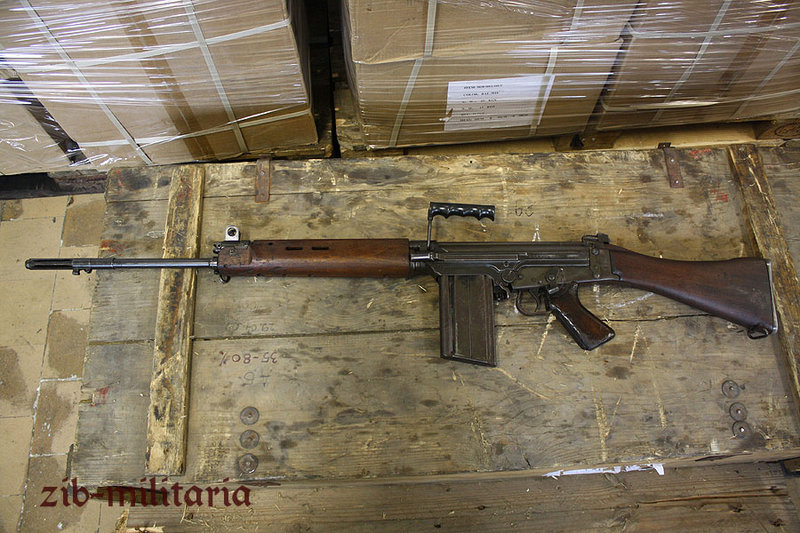 FN FAL (SLR/L1A1/G1), deactivated assault rifle, Manko