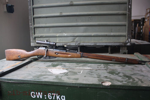 Sniper Mosin Nagant M91/30, deactivated rifle (WWII)