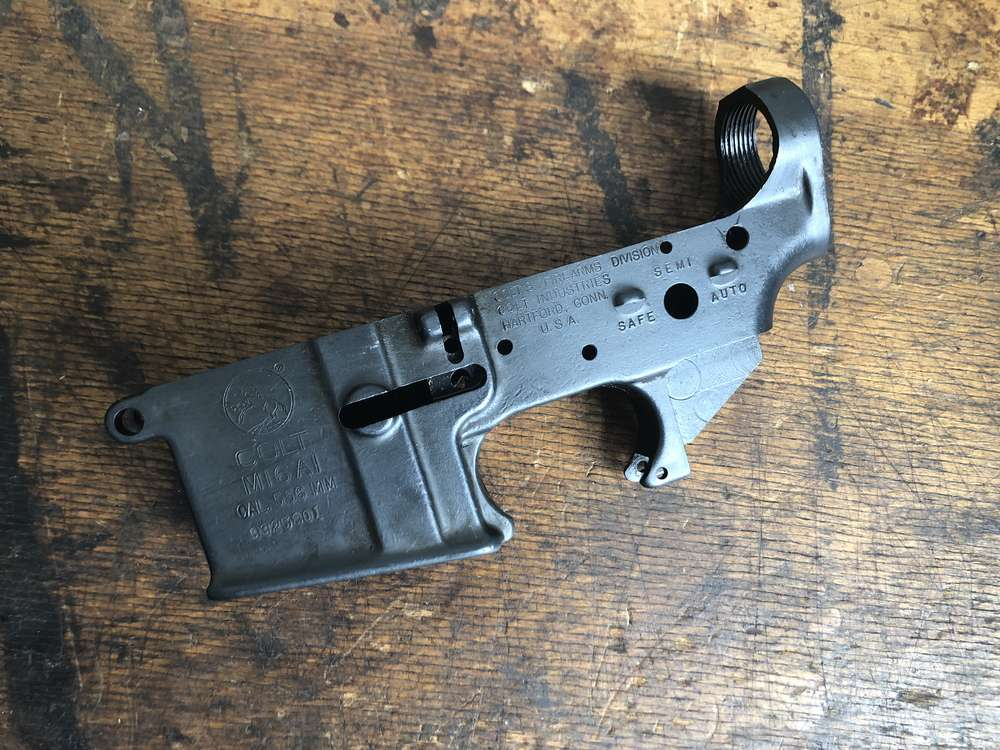 M16 lower, US Colt made, quality #1