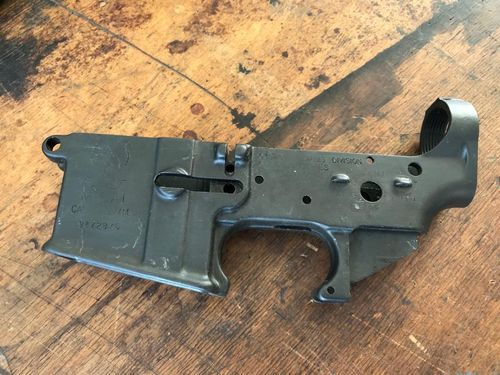 M16 lower, US Colt made, very good