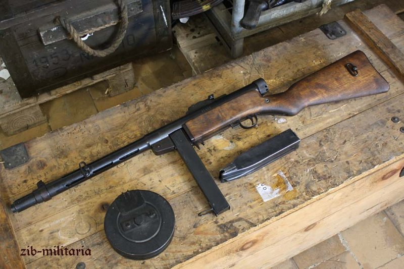 Suomi Mp Kp31 Sjr With Stick Mag Deactivated Mp Wwii