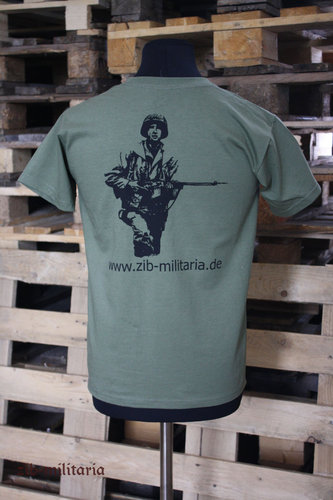 "T-Shirt US ""zib-militaria"", Fruit of the Loom Premium Quality"