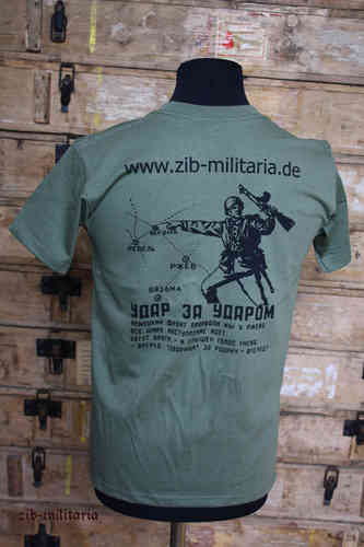 "T-Shirt Russian ""zib-militaria"", Fruit of the Loom Premium Quality"