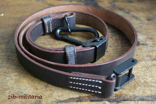 FG42 leather sling, dark brown
