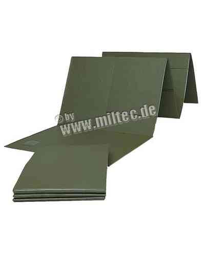 German Army isolation sleep mat