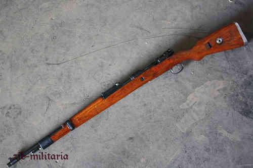 Mauser 98K, deactivated rifle (WWII), (build from spare parts post war)