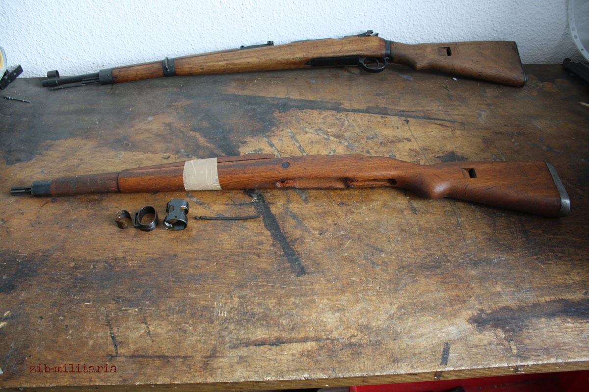 K98 / M48 / G24 / Mosin Nagant free gun parts weapon original