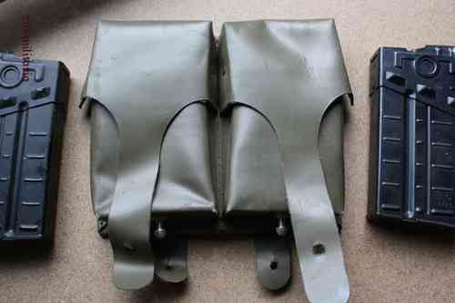 G3 H&K Mag Pouches + 2 x Mags, Oliv