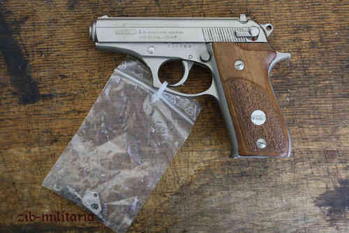 Bersa 85 without mag, deactivated pistol