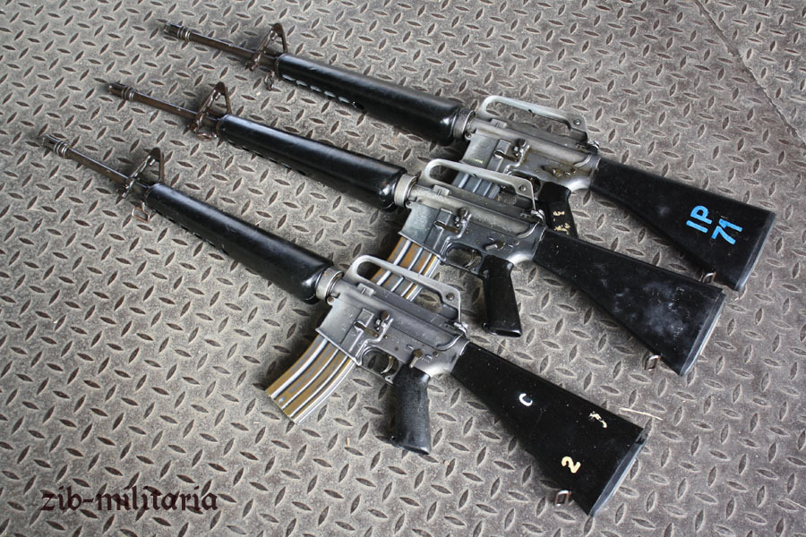 M16 A1 US Colt made, deactivated assault rifle, M16A1 M16A2 M16