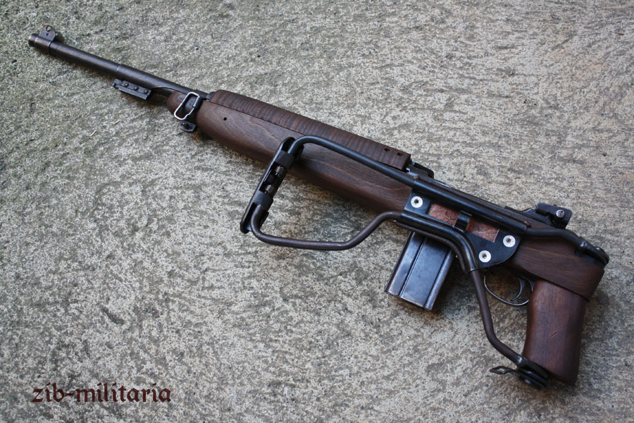 Carbine  30 M1, FOLDING STOCK, deactivated rifle (WWII)
