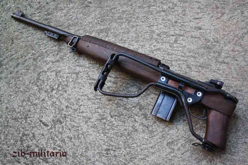Carbine .30 M1, FOLDING STOCK, deactivated rifle (WWII)