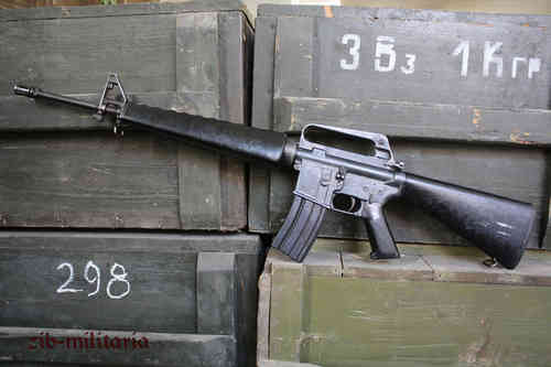 M16 A1 US Colt made, deactivated assault rifle, USED