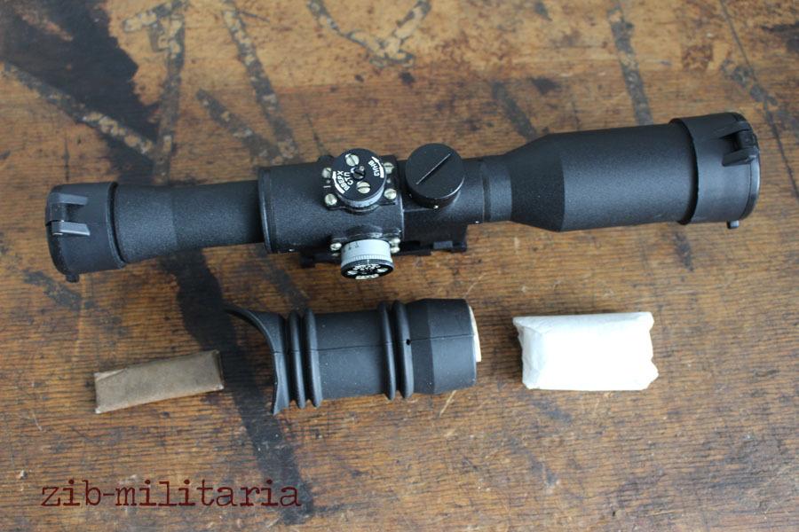 POSP scope Zenit Belomo 6x42 W, weaver mount