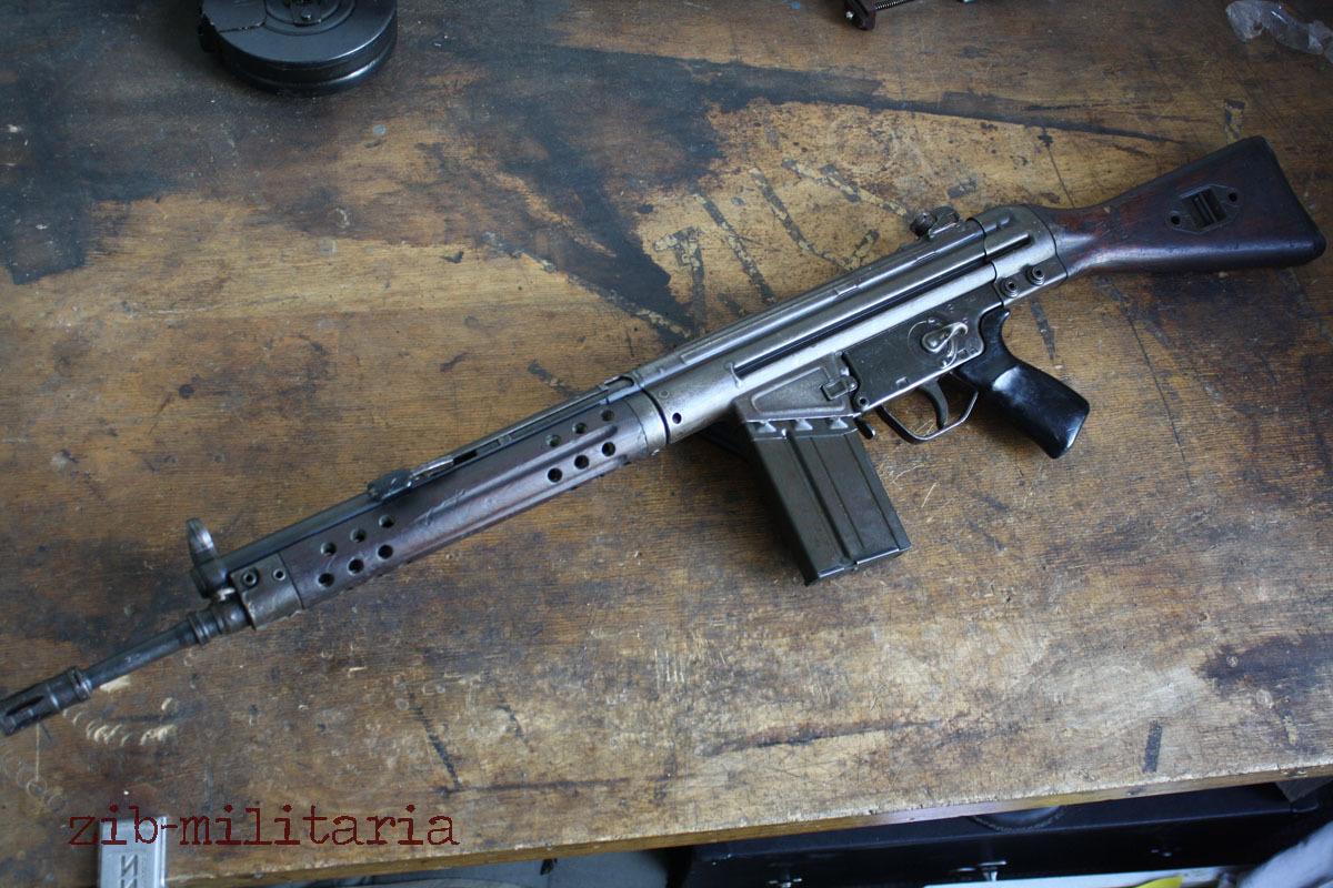 G3 Fix Stock Pof Make Deactivated Assault Rifle Pakistan