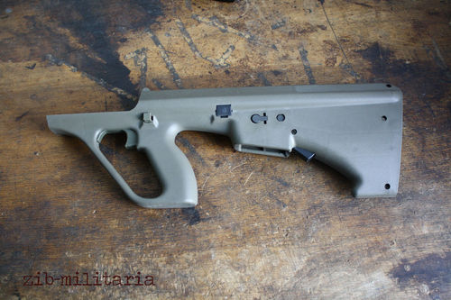 Steyr AUG stock, NATO Spec./Stanag .223, oliv colour
