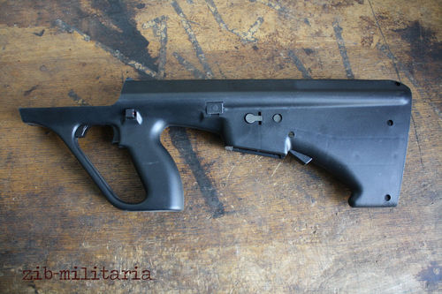 Steyr AUG stock, NATO Spec./Stanag .223, black colour