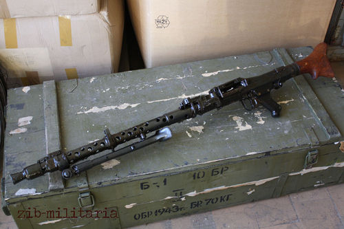 MG34, WWII free part set, without barrel + bolt