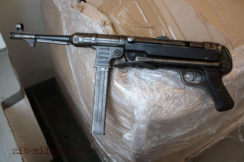 MP40, Original WH, nicht nummenrgl., Deko MP (WWII)