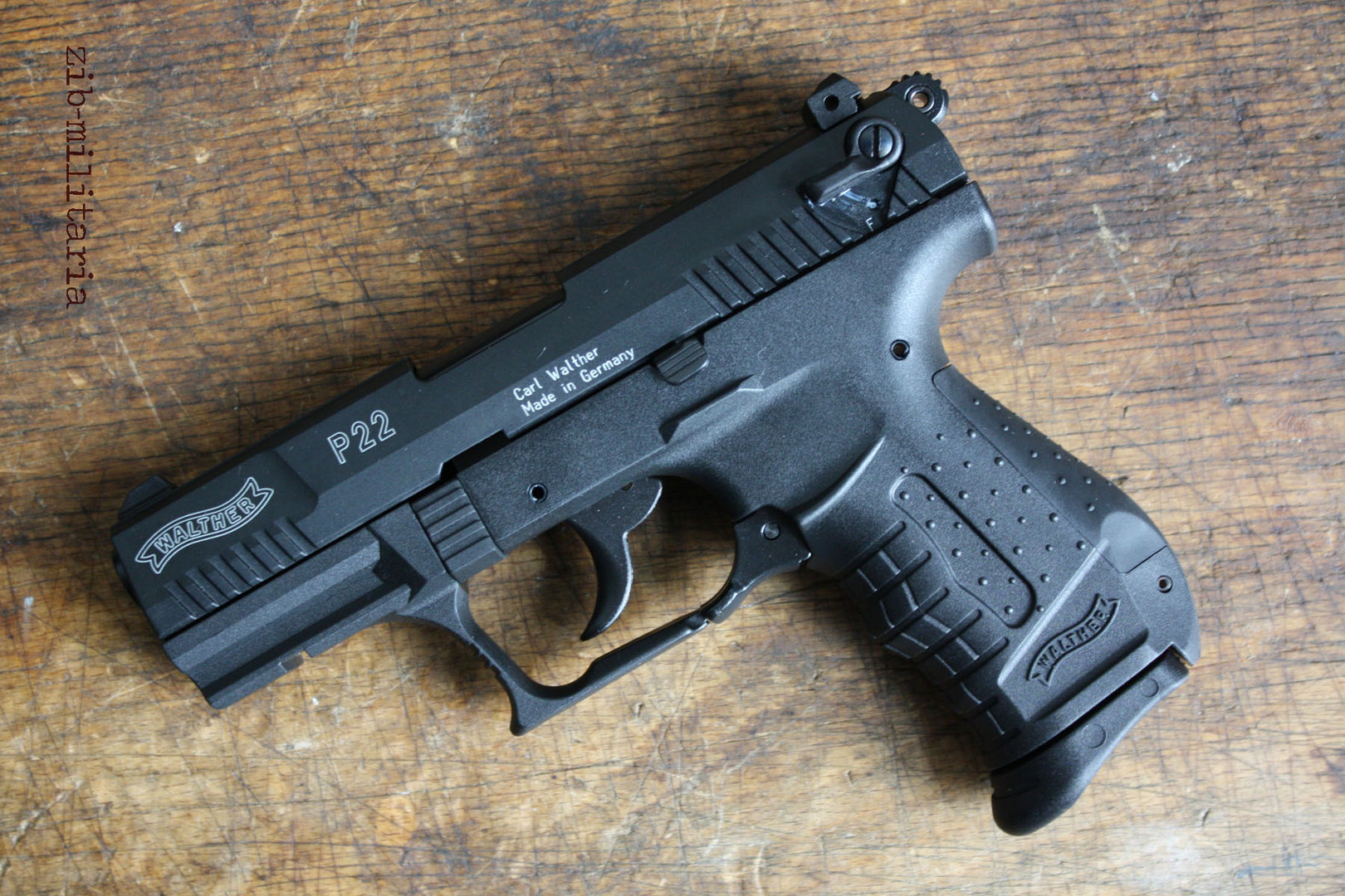 walther p22 9 mm p a k blank firing