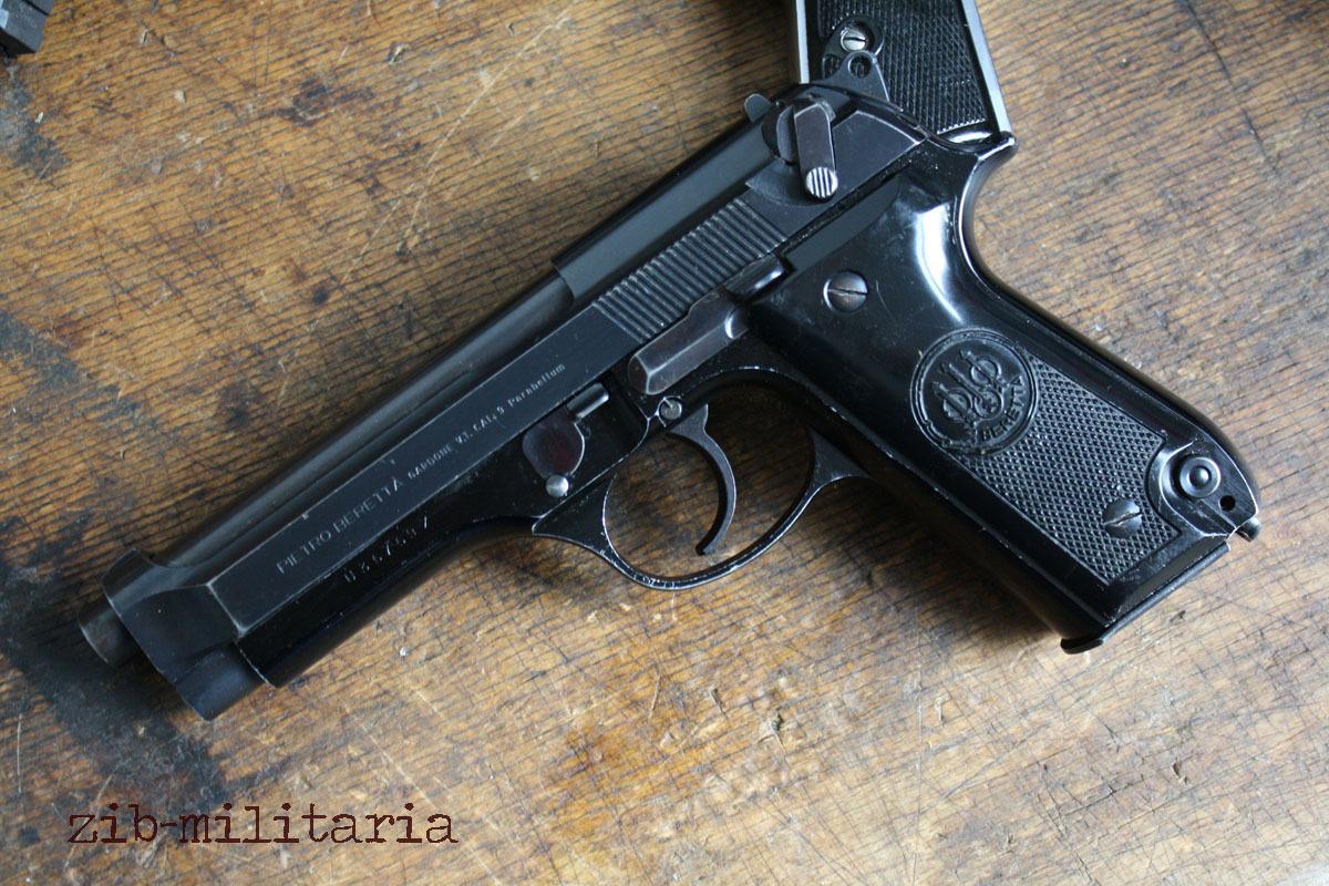 Beretta 92 Deactivated Pistol Demilled Deact