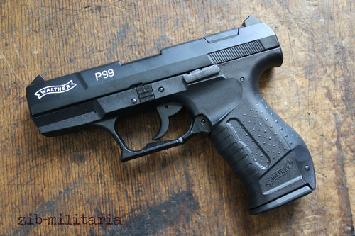 Walther P99, 9mm P.A., blank firing