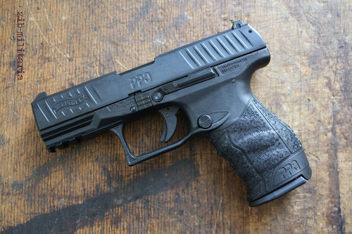 Walther PPQ M2, 9mm P.A., blank firing