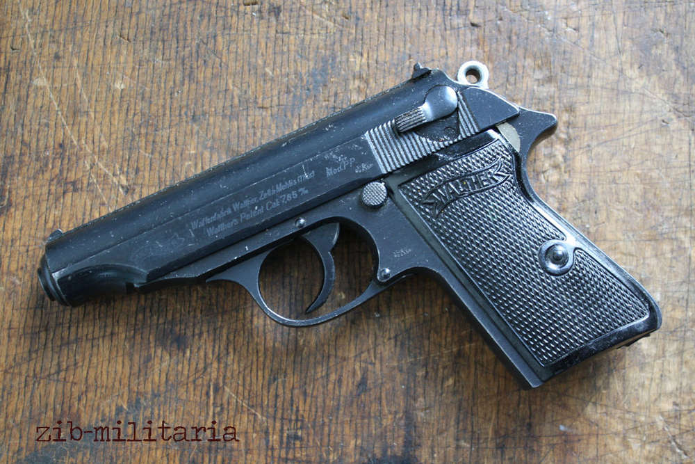 Walther PP (WWII org ), standard, deactivated pistol PPK