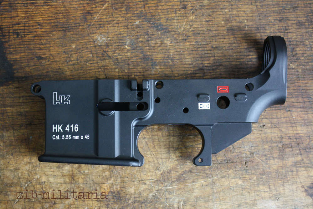 Strange HK416 Semi Auto Lower with an additional hole in it