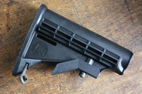 HK416 6-Position Rear Stock, US Style, H&K, (M4/M16/AR15)