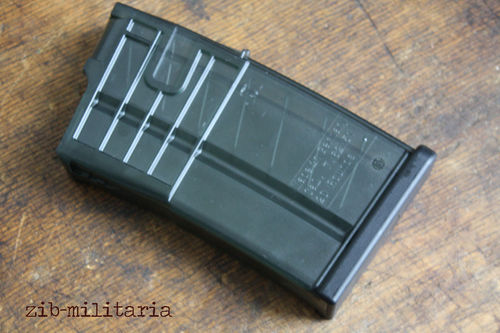 HK417/MR308 Magazin 20rds, PVC Transparent, H&K
