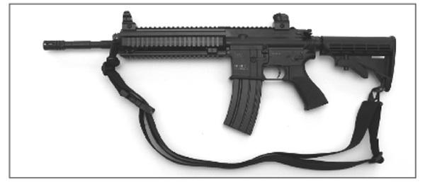 Rifle Carrying Sling, Carbine Hook, HK416/HK417/G36   original H&K