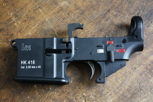 HK416 Lower with Trigger mounted, FA military, H&K